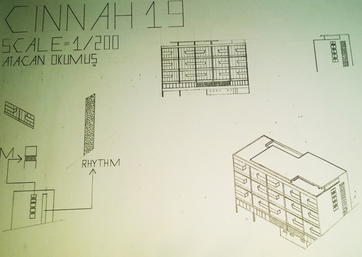 Cinnah 19 Ortographic&Axonometric Drawing