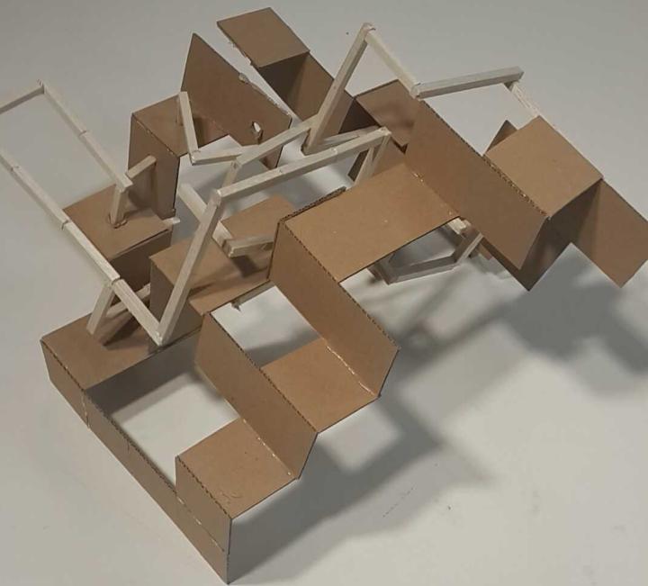 merged model